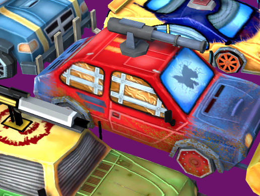 Zombie Cars And Weapons Pack