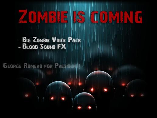 پکیج مجموعه صدا Zombie is Coming