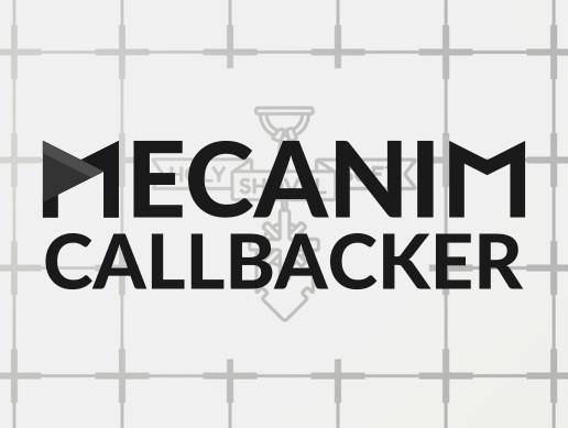 Mecanim Callbacker