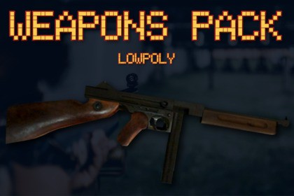Weapons Pack - Realistic LowPoly