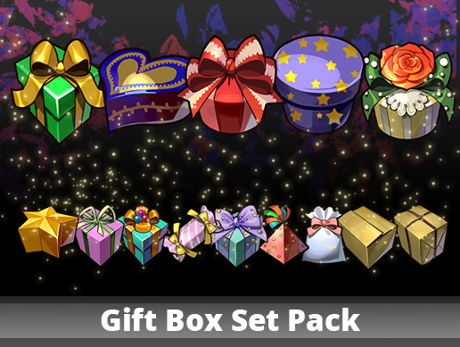Gift Box Set Pack