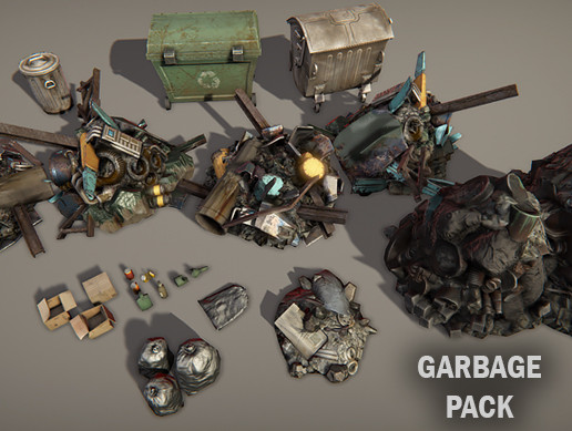 Garbage pack