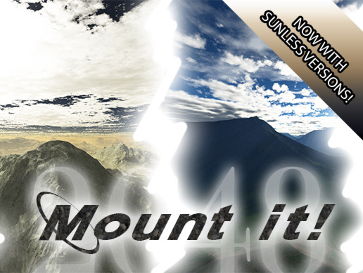 Mount it! Mountain Skybox Pack