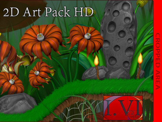 2D Art Pack HD