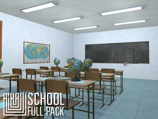 School - full pack