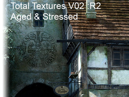 Total Textures V02: R2 Aged & Stressed