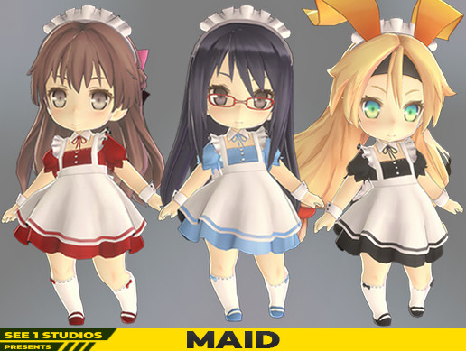 SD Chanz Costume Series - Maid
