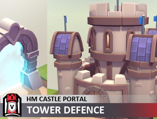 Human Castle Portal Pack