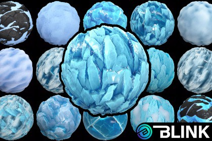 Stylized Ice Textures - RPG Environment