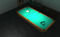 Billiards - interior and props