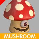 Fantasy Mushroom Mon