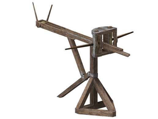 Low-poly ballista
