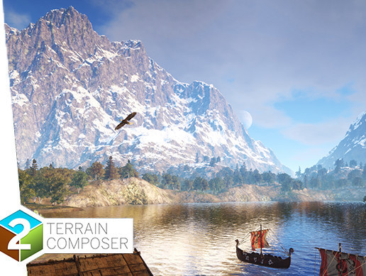 پکیج کاربردی یونیتی TerrainComposer 2