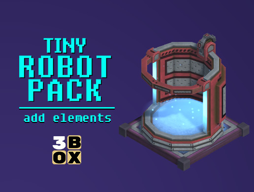 Tiny Robots Pack - add. elements