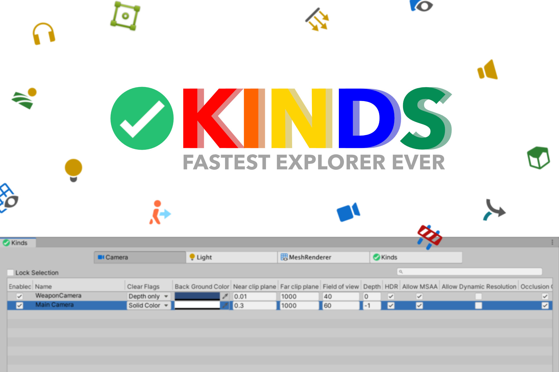 Kinds [Beta] - Fastest Explorer Ever