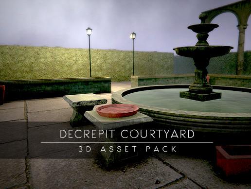 Decrepit Courtyard Props