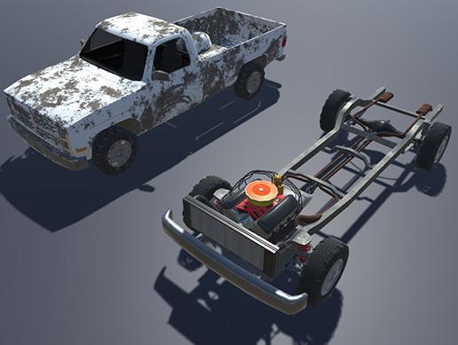 Pickup model