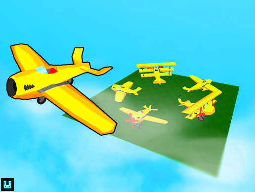 Toon Airplane Collection