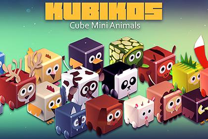 KUBIKOS - 22 Animated Cube Mini Animals