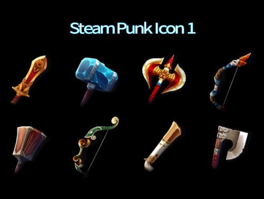 Steam Punk Icon 1