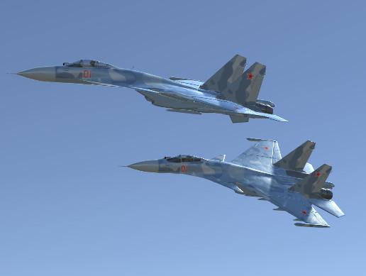 Jet Fighter Aircraft SU-33 Flanker-D