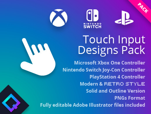 Touch Input Designs Pack
