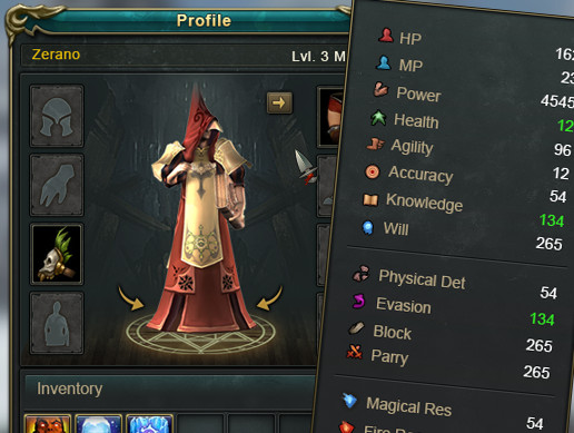 RPG UI - Asset Store