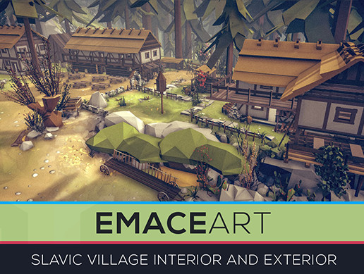 Slavic Village Interior and Exterior Kit LODs