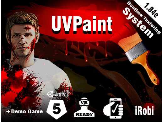 UVPaint (skinned mesh Decal System)