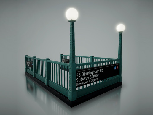 Subway Entrance Pack