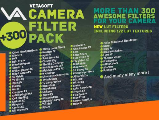 Grunge Camera Effect : Camera filter pack asset store