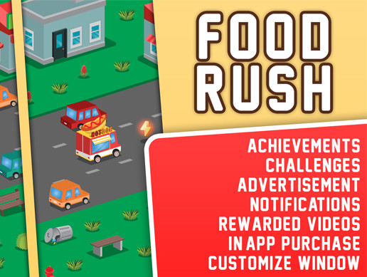 Food Rush - Complete Project