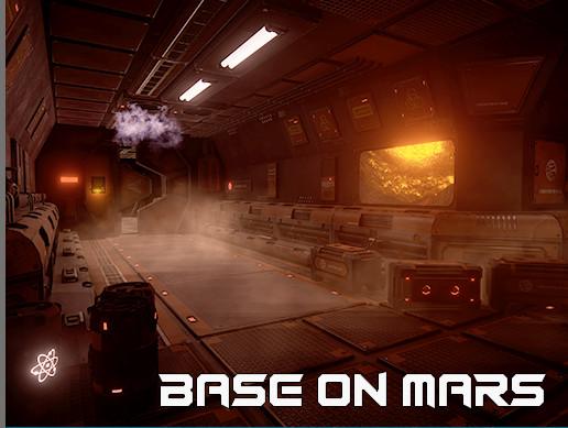 "Sci-fi Corridor ""Base on mars"""