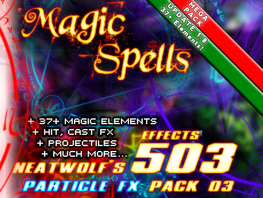ELEMENTALIS - 2018 Revamping (500+ FX Magic & Spells - MEGABundle 03)