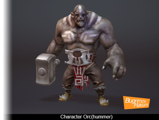Character Orc(hummer)