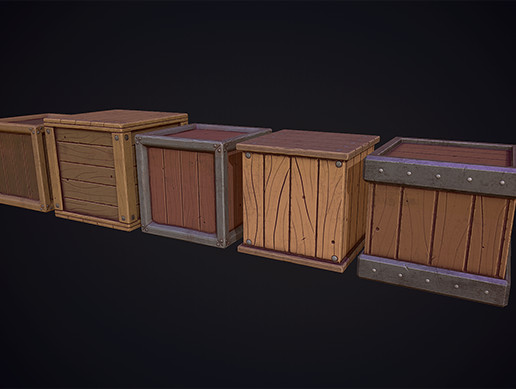 Stylized Crates - Boxes Pack