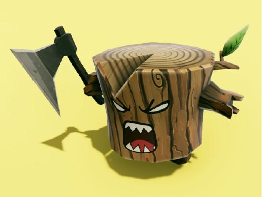 Angry Log - Revenge of the Tree