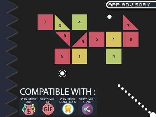 BallX - Infinite Brick Breaker - Complete Game Template