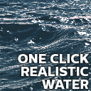 One Click Realistic Water