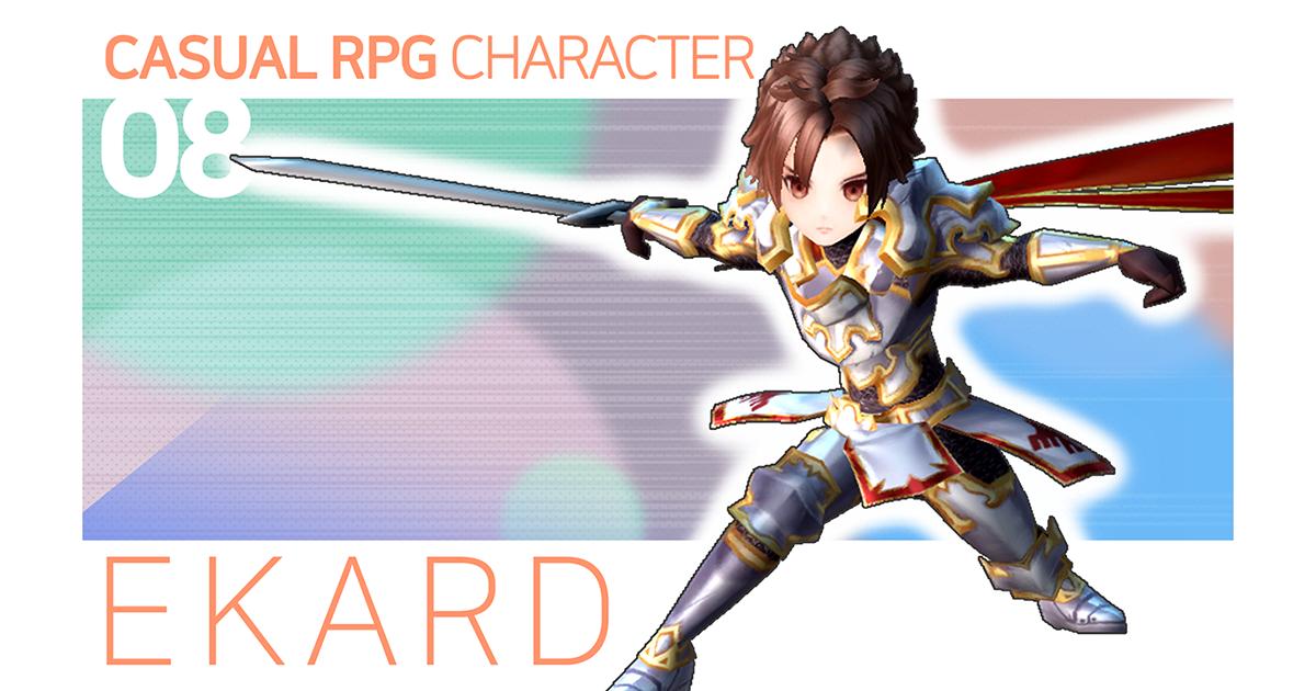 Casual RPG Character - 8 Ekard