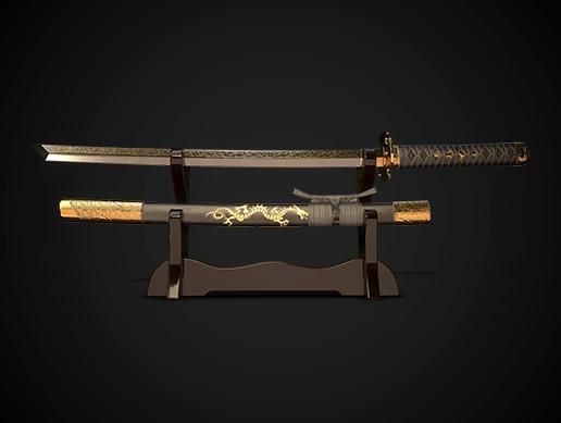 Samurai sword wakizashi No.05