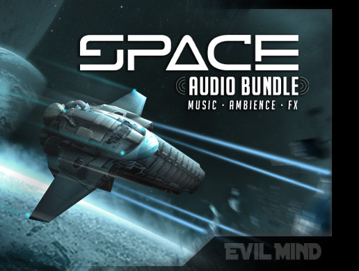 Space Audio Bundle ( Music + Ambience + Effects)