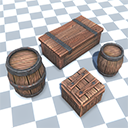 Crates And Barrels Pack Volume 1 - Free Version
