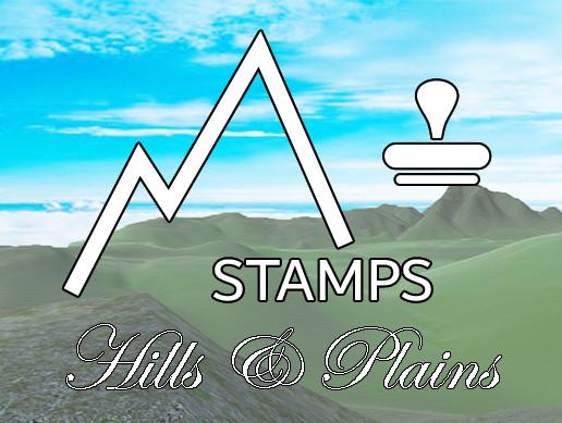 Terrain Stamps - Hills & Plains