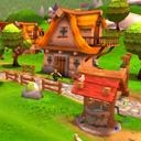Cartoon Fantasy Village Pack