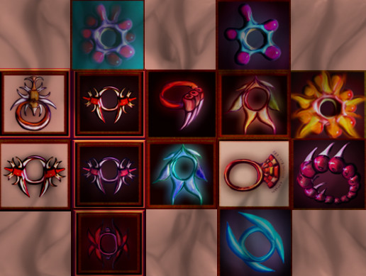 Mystery Rings Icons Pack