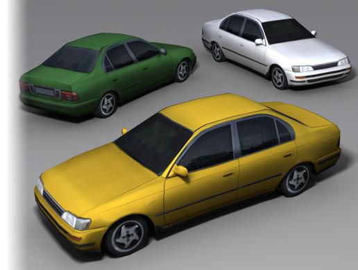 Compact Car 1993