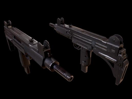 Uzi Submachine 9mm