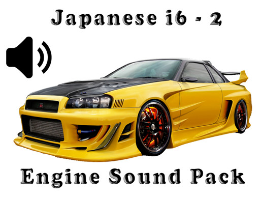 I6 Japanese - Engine Sound Pack - 2