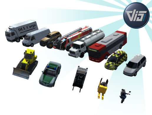 Giant Vehicles Collection